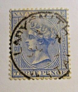 NATAL-Sc-68-used-postage-stamp-Victorian-fine