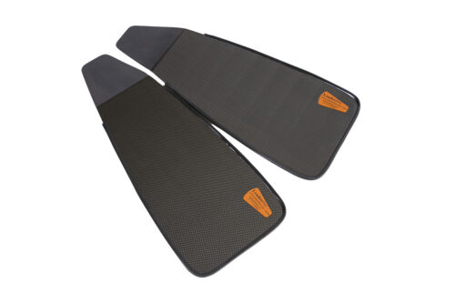 Carbon Fiber Short Stereoblades Spearfishing Freediving Fins Scuba Diving