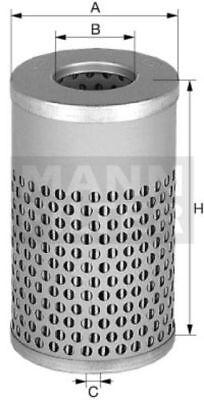Filter Filtereinsatz für Motoröl Ölfilter passend bei MF Ferguson 100er Serie