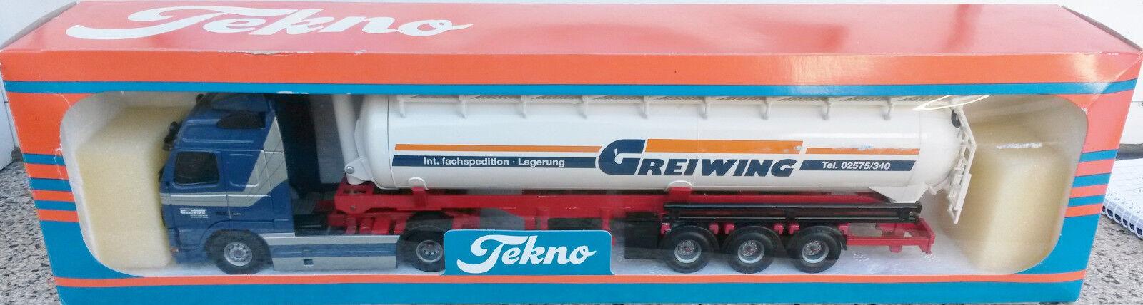 Rare!!! Volvo FH avec Kippsiloauflieger GREIWING Tekno 1:50 neuf neuf neuf dans sa boîte no WSI | En Ligne  2d8a37