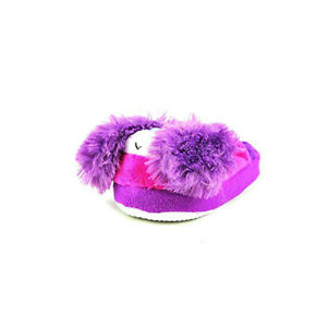 498d0244dd0 Image is loading Stompeez-Bunny-Slippers-Toddler-Purple-Color-Bunny-Cute-