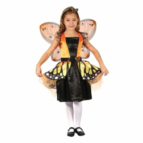 GIRLS BUTTERFLY FAIRY FANCY DRESS COSTUME SIZES 4//12 YEARS BOOK WEEK DAY