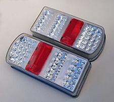 2 x LED Rückleuchten Set Heckleuchte 12 V für PKW Anhänger Rücklicht Leuchten