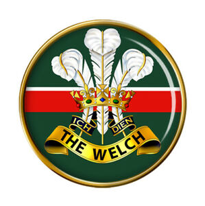 Welch-Regiment-Armee-Britannique-Broche-Badge