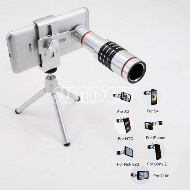 Telescope Camera Telephoto Lens Kit 18x Zoom & Tripod For Universal Smart Phone