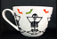 Portobello By Design Bone China Large Coffee Hot Tea Boo Skeleton Halloween Mug