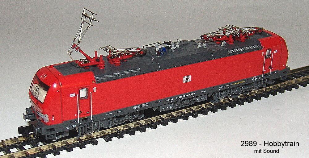HOBBYTRAIN 2989S E-LOK BR 193 Vectron DB CARGO CON SUONO   NUOVO SCATOLA