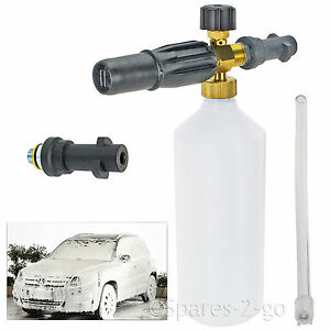 1 L Neige Mousse Tuyère Flacon Pulvérisateur Pour Karcher K2 K3 K4 K5 K6 Nettoyeur haute pression  </span>