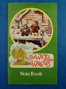 Vintage-1983-sin-usar-el-viento-en-los-sauces-portatil-retro-Papeleria