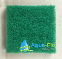 Aqua-flo Four-pack Green Pond Filter Mat/media/pad 12x12 -water Garden-skimmer