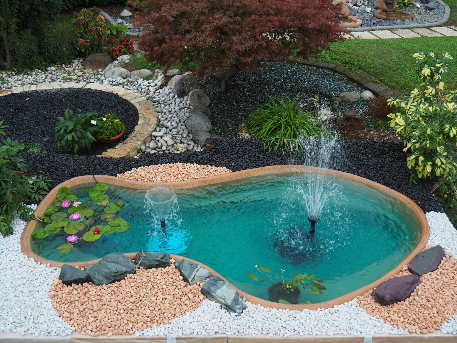 Telo Per Laghetto Da Giardino happy pond kit 1 laghetto per giardino 120 lt bdjobs7