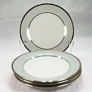 """Set of 4 - Tirschenreuth Dawn Bread and Butter Plates *Mint* (6-1/4"""" diameter)"""