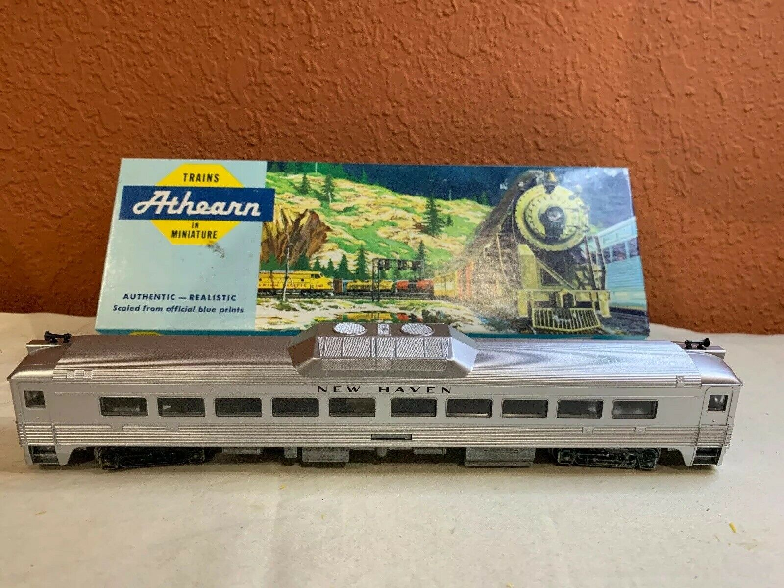 ATHEARN HO nuovo HAVEN RDC-1 energia LOCOMOTIVE 2172 . USED