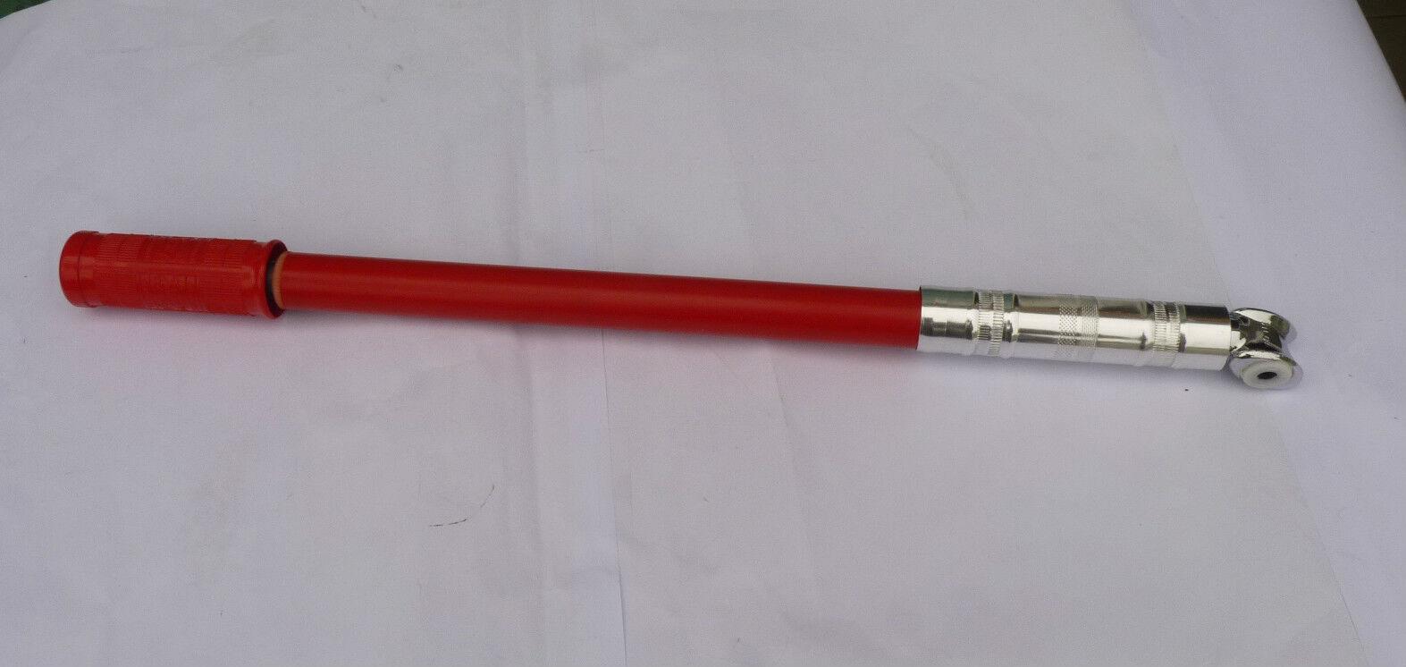 NOS vintage Silca Impero- Flandria frame pump 49.5cm Red color  P266ca