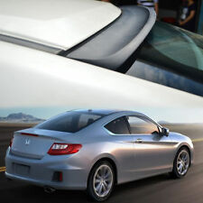 UNPAINTED FOR HONDA Accord 9th COUPE 2D REAR WINDOW ROOF SPOILER K TYPE 13-15 ◣