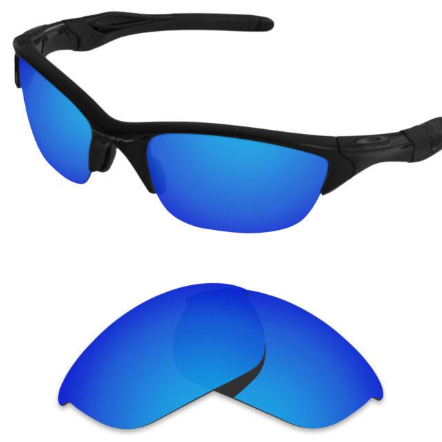 Polarized Replacement Lenses for-Oakley Half Jacket 2.0 Metallic Blue+ (STD)
