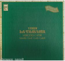 Verdi: La Traviata / Molajoli, Capsir, Galeffi, Conti, Nessi - LP Emi  NM / EX