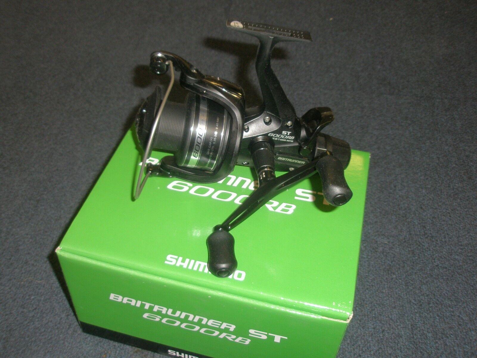 Shimano free spool reels St. 6000 RB role carp fishing equipSiet