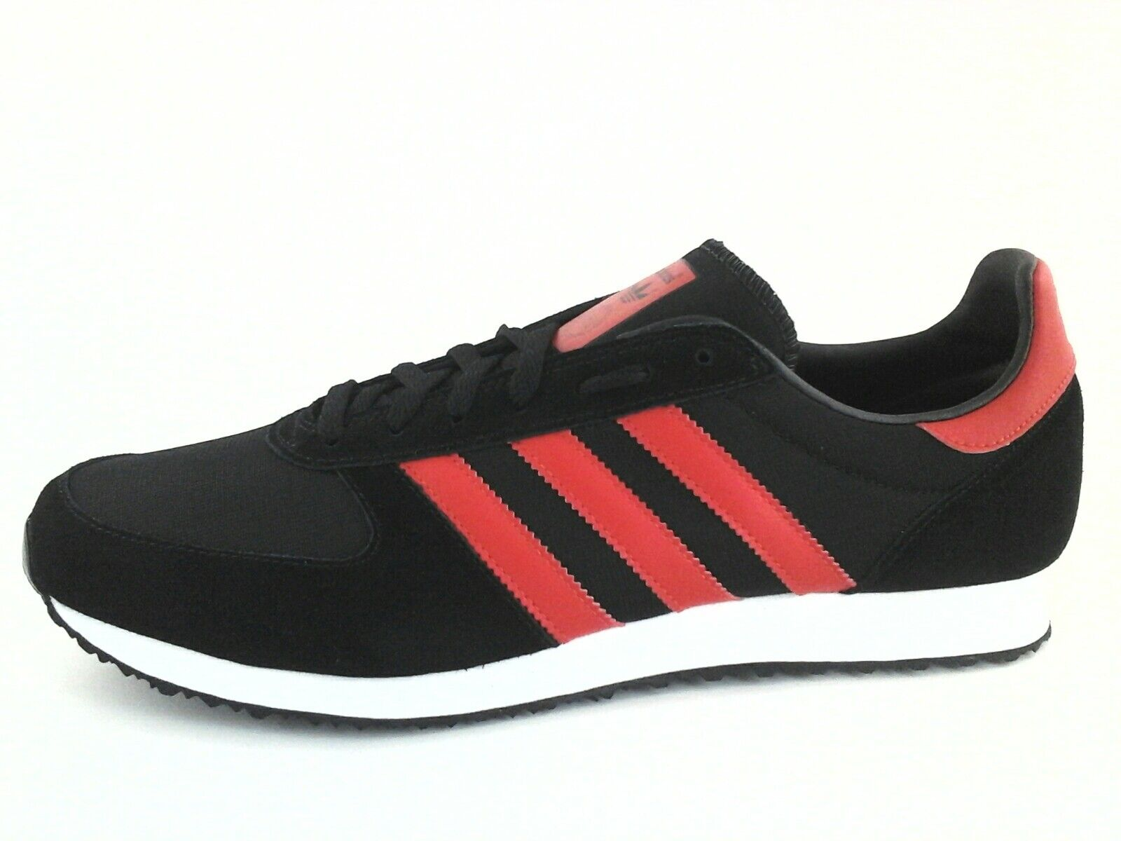 Adidas Originals S80037 Men's ZX RACER Retro shoes Black Red Red Red US 11  3 New d0c3b5