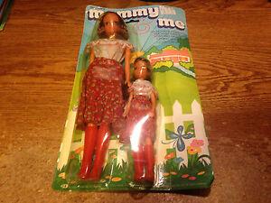 Durham's Mommy & Me Dolls Mère 11 1/2 1977 No 3072 / Photos Réelles Daughter 7