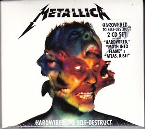 2-CD-Box-Set-METALLICA-HARDWIRED-TO-SELF-DESTRUCT-nuovo-sigillato-digipack