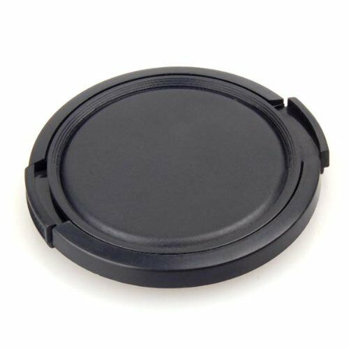 52MM GENERIC SIDE-PINCH CLIP-ON FRONT LENS CAP FOR CANON NIKON TAMRON SIGMA SONY
