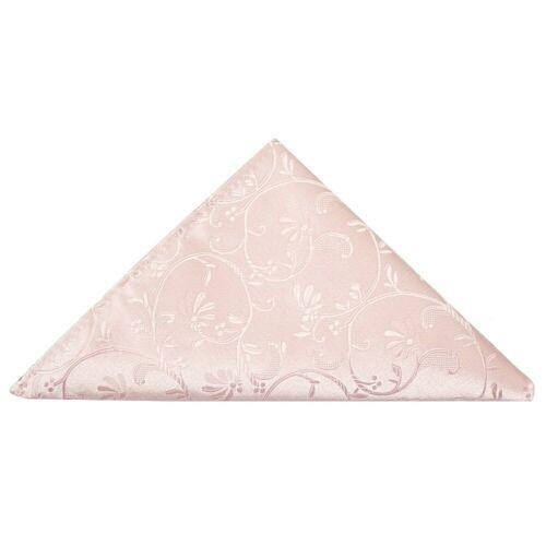 Blush Rose Floral MEN/'S Cravate Cravate et mouchoir de poche Set mariage cravate cravate