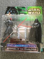 Potj Star Wars Masters Of The Dark Side Darth Maul Vader Hasbro 2000 Figure