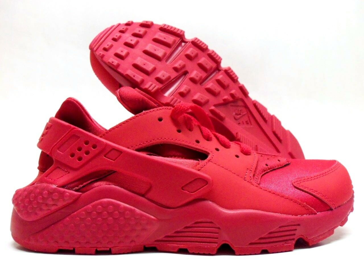 NIKE AIR HUARACHE ID  RED OCTOBER  RED SIZE WOMEN'S 11.5 MEN 10 [777331-978]