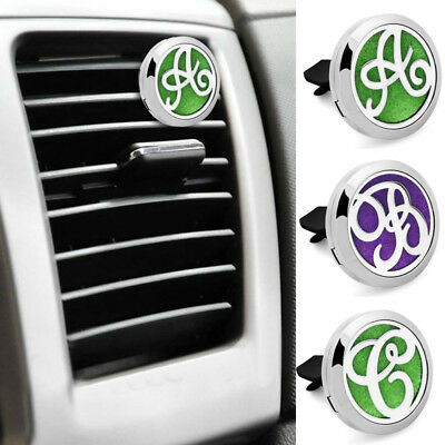 316L Stainless Steel Car Vent Clip Air Freshener Essential Oil Diffuser