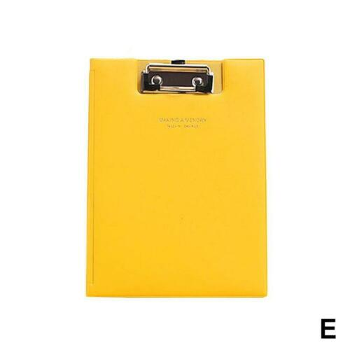 A5 Clipboard Writing Pad File Folder Document Holder School Office Paperwork Red
