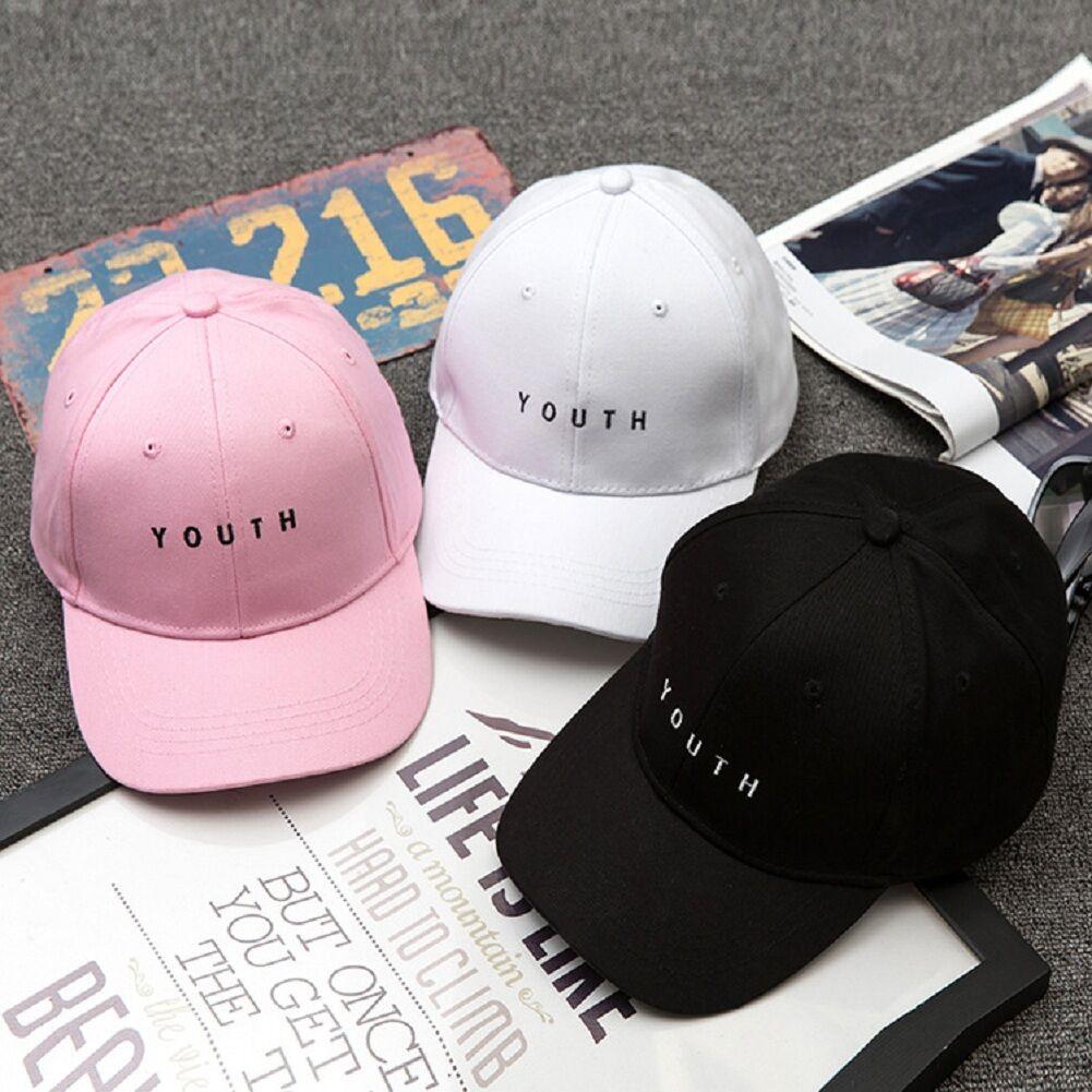 3121bea6b0c Details about Fashion UNISEX Women Men Baseball Cap Hat Hip Hop Adjustable Polo  Sports Style