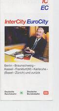 Zuglauf piano IC/EC Berlino a Zurigo e ritorno 1991/92 (agk1175)