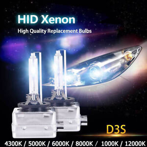 2 AMPOULES D3S 35W LAMPE REMPLACEMENT FEU XENON HID POUR AUDI 6000K 8000K FEUX