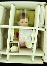 Danbury Mint JACK IN THE BOX Collectible Porcelain Baby Doll 1991 Playful Babies