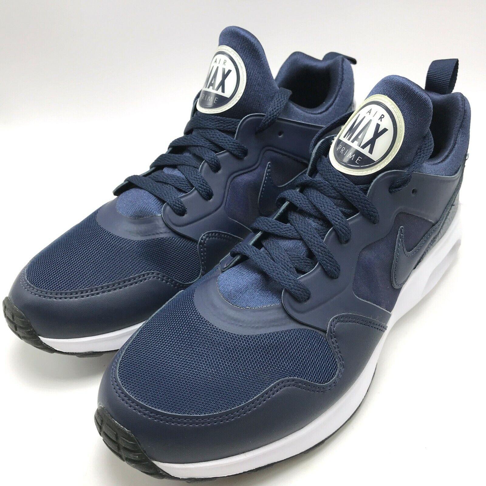 Nike Air Max Prime Men's Running shoes Obsidian Obsidian-White 876068-401