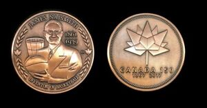 James-Naismith-Inventor-of-Basketball-Canada-150-Medal-Bronze-Plate-Only-50-Made