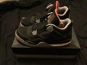 Nike-Air-Jordan-Retro-IV-4-Bred-Size-9