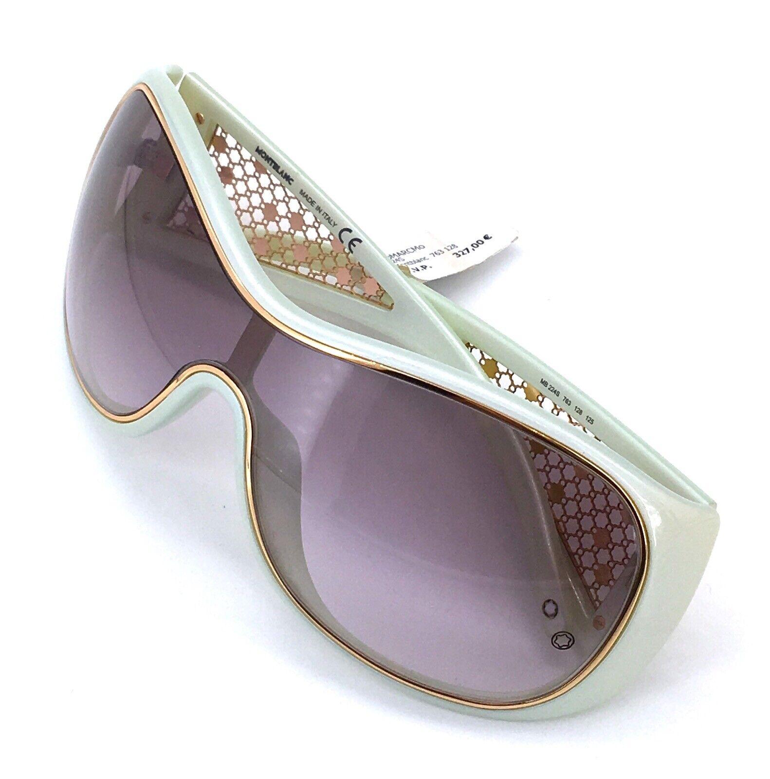 [-50%] rrp 327 new mont blanc mb224s sunglasses eyewear montblanc sunglasses