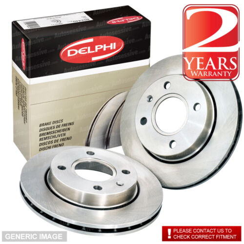 Front Vented Brake Discs VW Bora 1.9 TDI Estate 2000-05 130HP 288mm