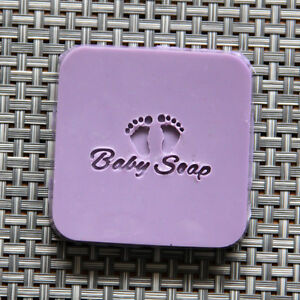 Image Is Loading Mini Baby Foot Patterns Soap Stamp Mold Natural