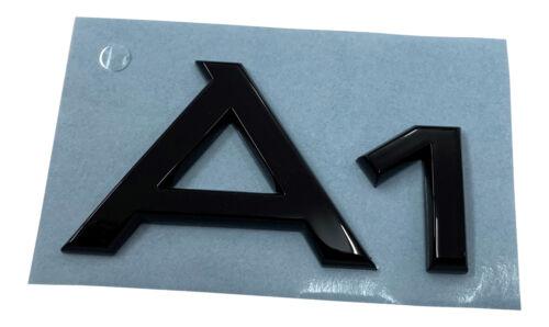 Audi originales a1 Black Edition emblema bordado logo negro a1 8x GB