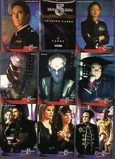 Babylon 5 Special Edition SE 72 Card Basic//Base Set Skybox 1997