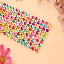 Emulation Diamond Scrapbooking Self Adhesive Stickers Crystal Rhinestone Bling
