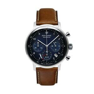 Men-039-s-Watch-Iron-Annie-Bauhaus-Chronograph-Solar-Espson-Seiko-VR42A-5086-3