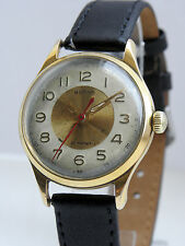 RARE BRAND VOLNA PRECISION gilt ChChz Vostok watch fact 4Q-59 Soviet Mov.zenith