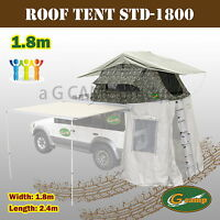 Camp 1.8m Roof Top Tent Trailer 4wd 4x4 Camping Car Rack Std