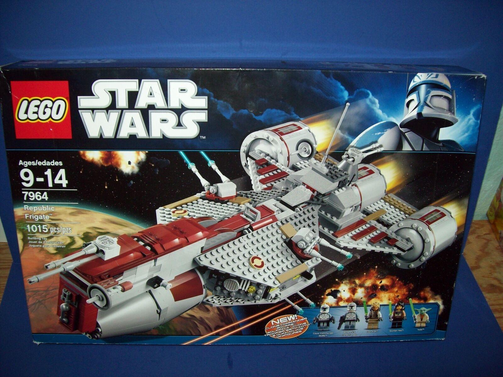 Lego Estrella Wars 7964 República fragata Nuevo en Caja Nuevo retirado