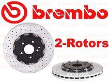BREMBO  Set of 2  Front Brake Rotors CLK55 SLK55 AMG  1714210112 NEW