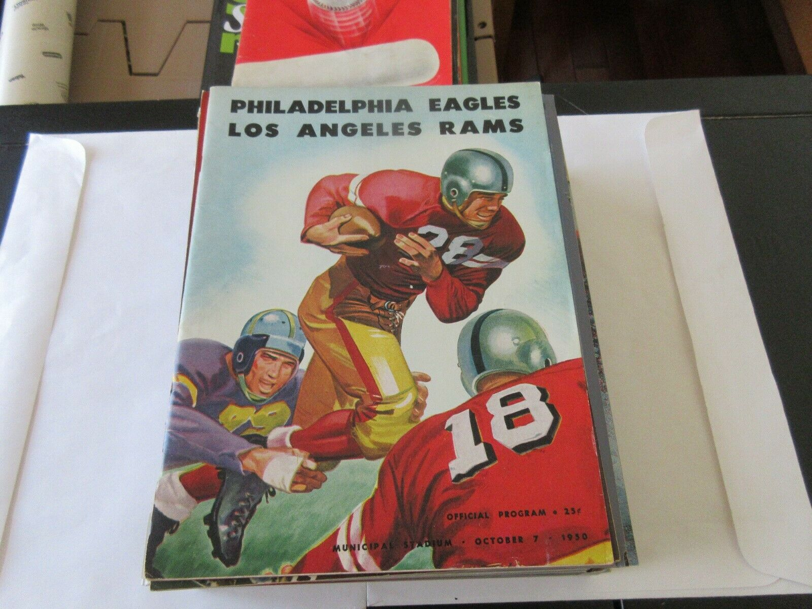 Philadelphia Eagles / Los Angeles Rams , Official Progr